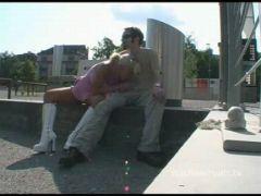 Geiler Sex an öffentlichen Orten